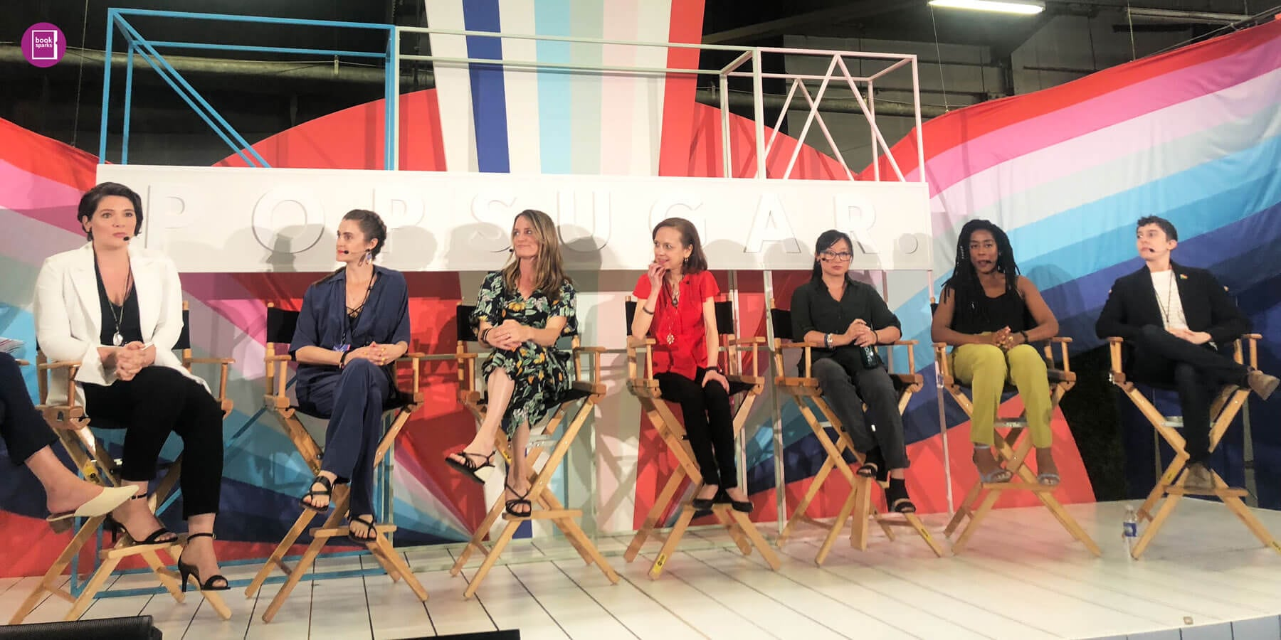 BookSparks Authors Take The Skimm and POPSUGAR Playground by Storm